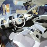 Der Innenraum des BMW i3 Concept Coupe