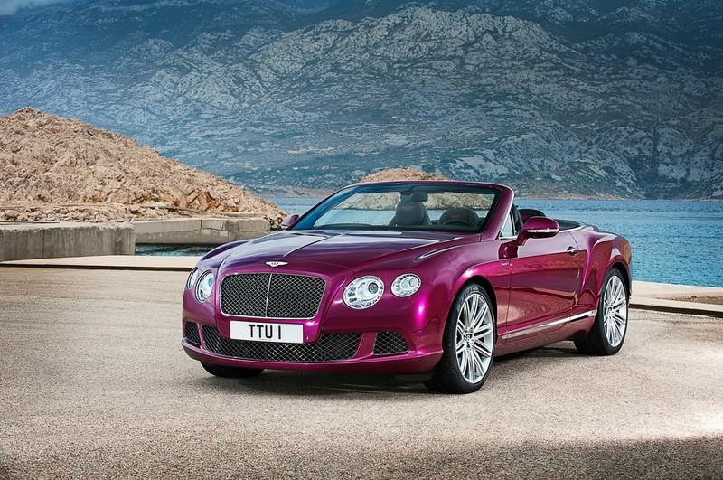 Bentley Continental GT Speed Convertible ist das schnellste viersitzige Cabrio der Welt