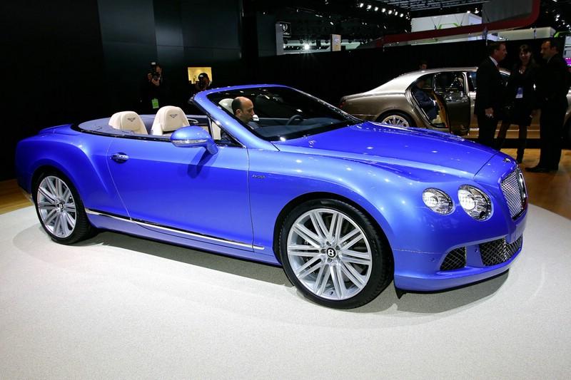 Bentley Continental GT Speed Convertible auf der NAIAS Detroit 2013