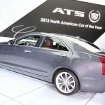 Cadillac ATS auf der Detroiter Motor Show 2013