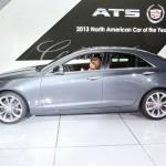 Cadillac ATS auf der Detroit Autoshow 2013