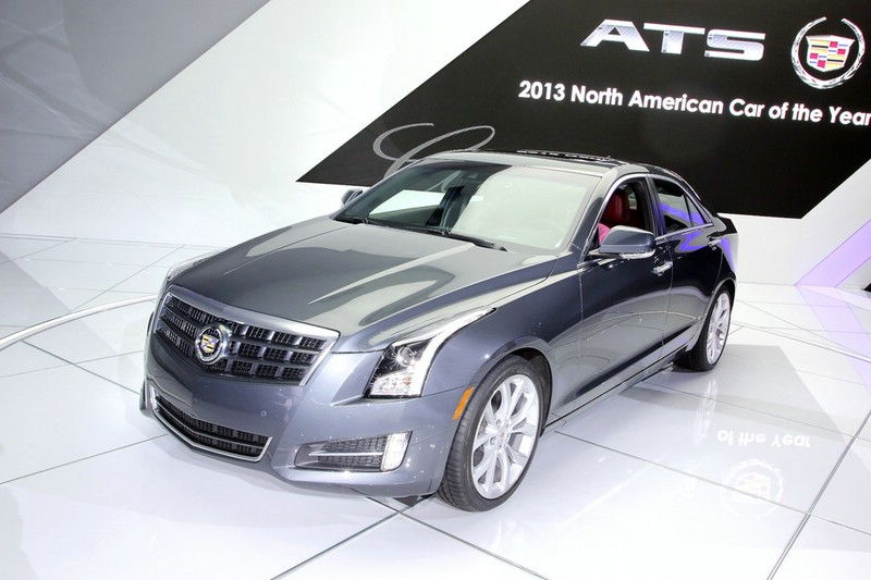 Cadillac ATS auf der Detroit Auto Show 2013