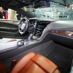 Das Interieur des Cadillac ELR mit Lederausstattung