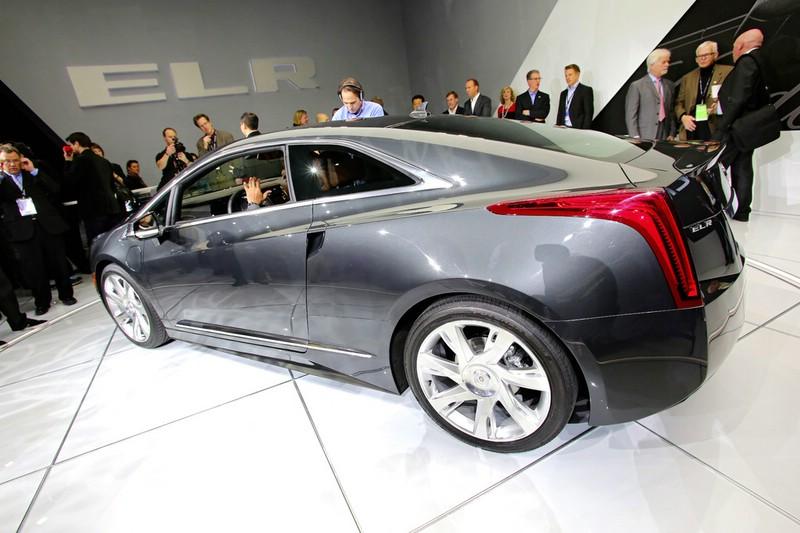 Cadillac ELR auf der Detroit Autoshow 2013