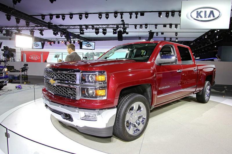 Chevrolet Silverado auf der NAIAS Detroit 2013