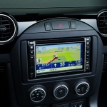 Das Display des Tom Tom Navigationssystems im MX-5 Hamaki