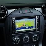 Das Display des Tom Tom Navigationssystems im MX-5 Hamaki