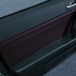 Die Türverkleidung und die Vararbeitung des Mazda MX-5 Sondermodells Hamaki