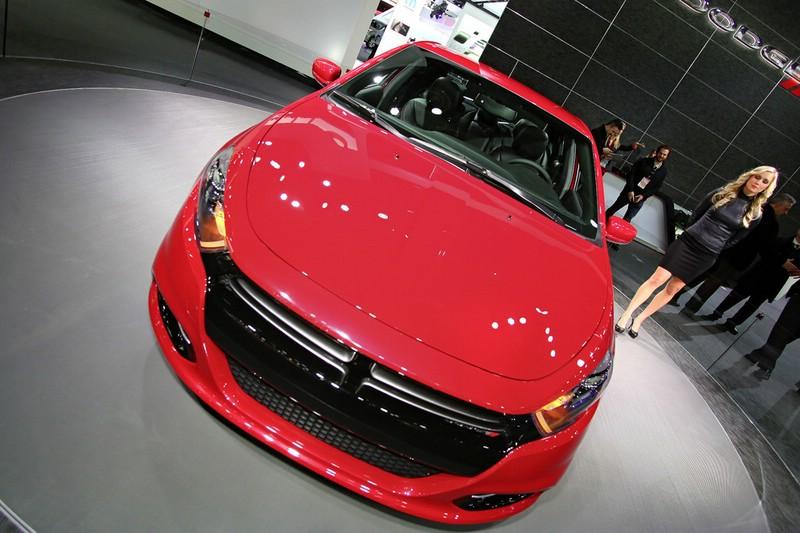 Der Kühlergrill des Dodge Dart GT