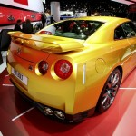 Nissan Usain Bolt Gold GT-R Limited Edition auf der NAIAS 2013 in Detroit