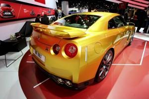 Nissan Usain Bolt Gold GT-R Limited Edition auf der NAIAS 2013 in Detroit