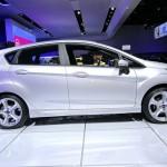Die Seitenpartie des Ford Fiesta ST