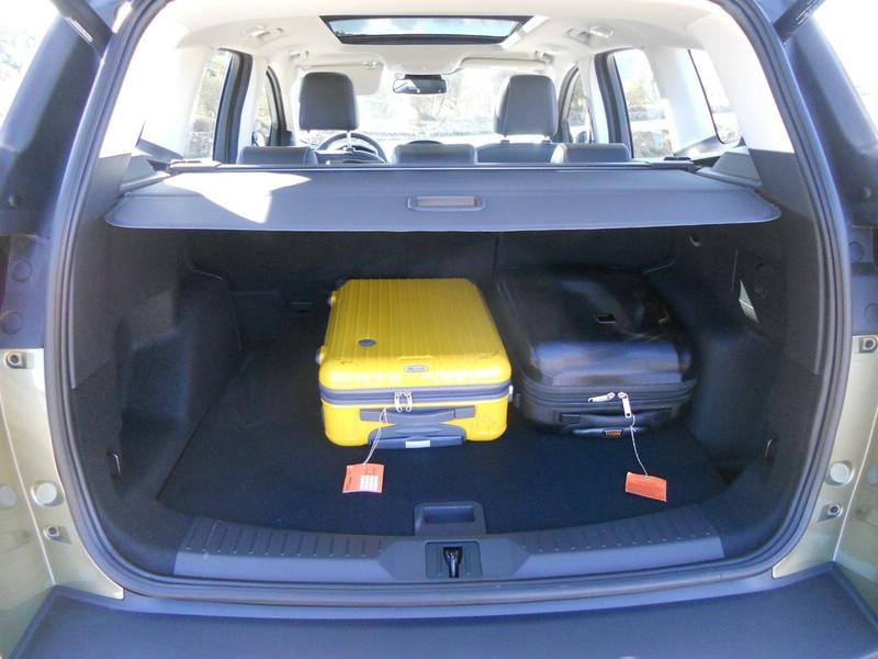 Der Kofferraum des Ford Kuga 2013
