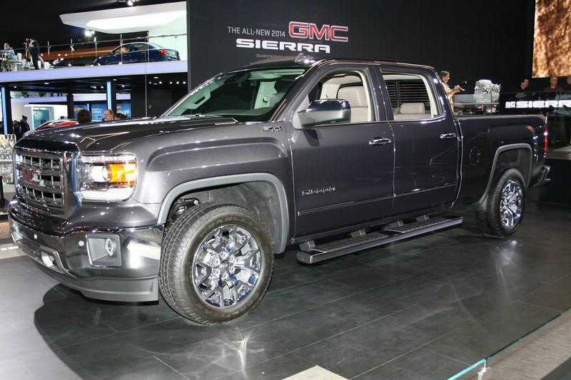 GMC Sierra auf der Detroiter Auto Show 2013