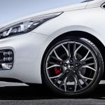 Die Felgen des Kia Pro Ceed GT
