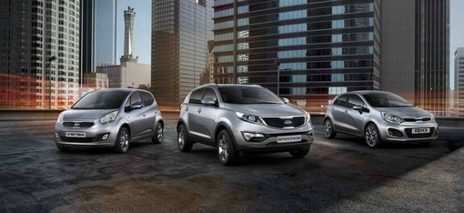 Kia Sondermodelle Dream-Team Edition für 2013