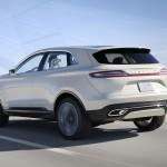 Das Exterieur des Lincoln MKZ Concept