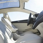 Das Interieur des Konzeptfahrzeugs Lincoln MKZ