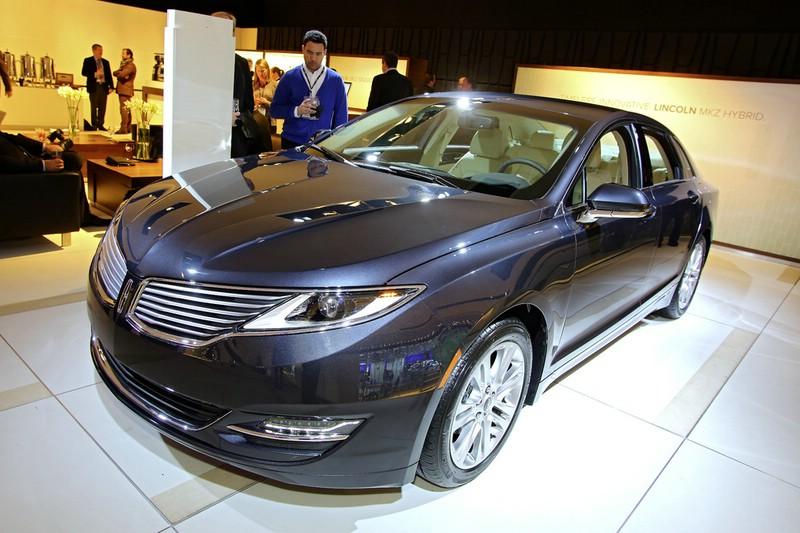 Lincoln MKZ auf der Detroiter Motor Show 2013