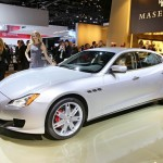 Das Exterieur des Maserati Quattroporte 2013