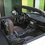 Havannabraune Ledersitze im Mazda MX-5 Hamaki