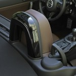 Die Kopfstütze des Mazda-Sondermodell MX-5 Hamaki (2012)