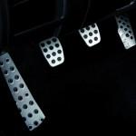 Die Pedalerie des Mazda MX-5 Hamaki