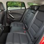 Die hinteren Sitze im neuen Mazda6 2.2 Skyactiv-D