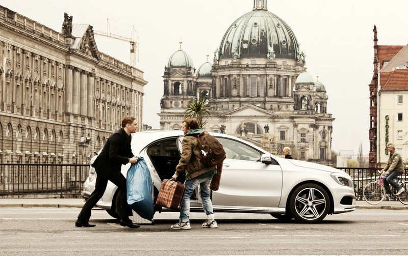 Die neue Mercedes-Benz A-Klasse im Kinofilm Schlussmacher
