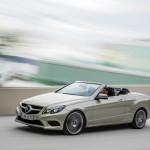 Das Exterieur des Mercedes-Benz E-Klasse Cabrio Facelift