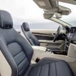 Das Interieur des Mercedes-Benz E-Klasse Cabrio 2013