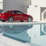 Facelift Mercedes-Benz E-Klasse Coupe - Seitenansicht