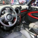 Der Innenraum des Mini John Cooper Works Paceman - Cockpit, Mittelkonsole