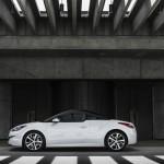 Seitenpartie des überarbeiteten Peugeot RCZ