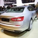 Der neue (2013) Maserati Quattroporte in der Heckansicht
