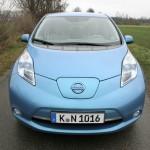 Die Frontpartie des Nissan Leaf