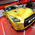 Nissan Usain Bolt Gold GT-R Limited Edition auf der Detroiter Motor Show 2013