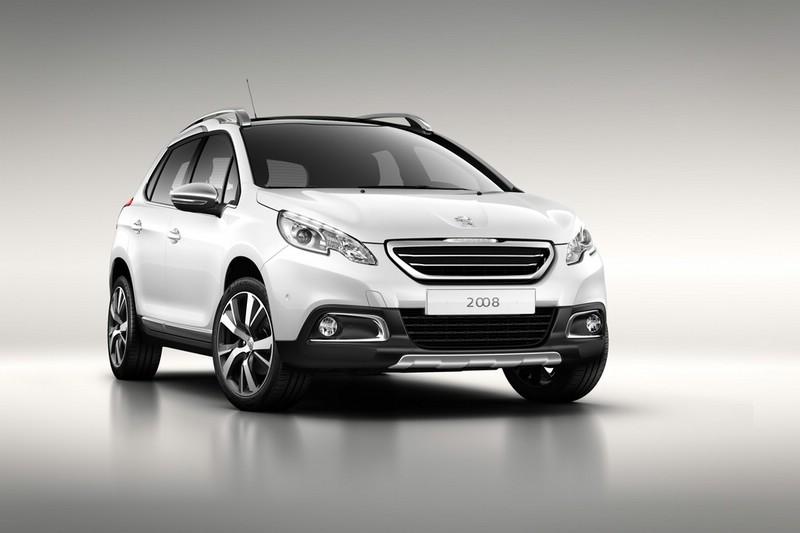 Der neue Peugeot 2008 von vorne