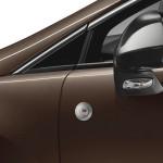 Die Außenspiegel des Peugeot 3008 Napapijri
