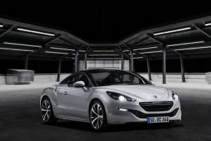 Der neue Peugeot RCZ (2013) in der Frontansicht