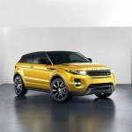 Range Rover Evoque Yellow Edition in der Lackfarbe Sicilian Yellow