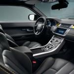 Der Innenraum des Range Rover Evoque Yellow Edition