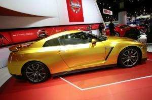 Nissan Usain Bolt Gold GT-R Limited Edition auf der NAIAS Detroit 2013