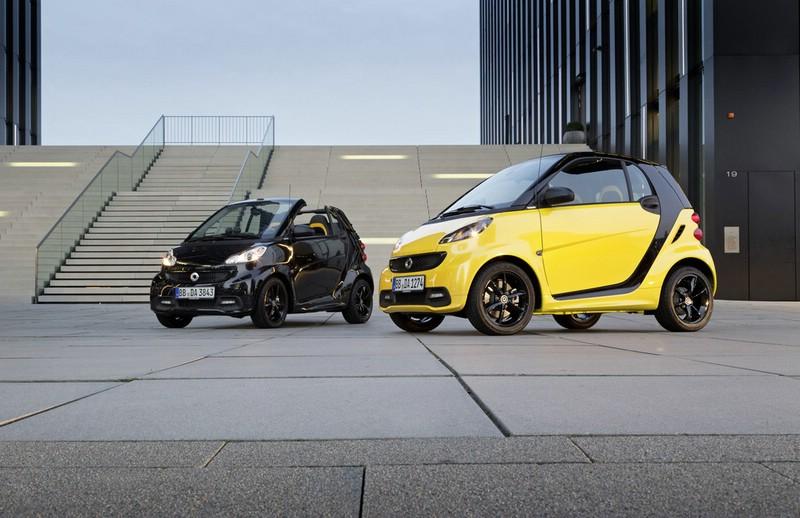 Als Coupe und als Cabrio: Der Smart Fortwo Edition Cityflame