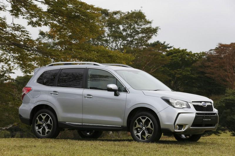 Das Exterieur des neuen Subaru Forester (Seitenpartie)