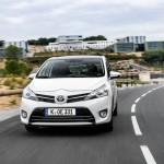 Die Frontpartie des überarbeiteten Toyota Verso