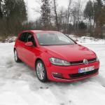 VW Golf 4Motion in der Frontansicht