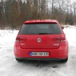 VW Golf 4Motion (2013) in der Heckansicht