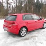 VW Golf 4Motion in der Seitenansicht