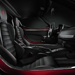 Das Interieur des Alfa Romeo 4C